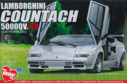 1:24 Lamborghini Countach 5000QV ´88 Quattrovalvole Model Kit
