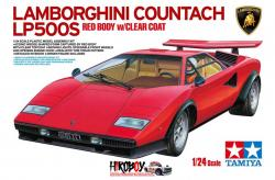1:24 Lamborghini Countach LP500S - Red Body W/Clear Coat