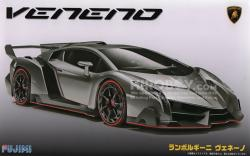 1:24 Lamborghini Veneno Model Kit c/w Engine Detail