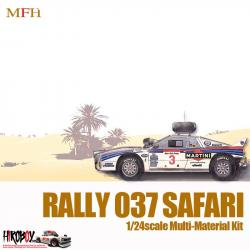 1:24 Lancia 037 Safari Rally : Martini Racing 1984 WRC Rd.4 Safari Rally #7 Alén/Kivimaki - Multi-Media Kit