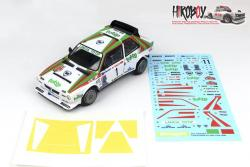 1:24 Lancia Delta S4 Jolly Club Totip - Raly 1000 Miglia 1986 Decals