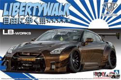 1:24 Liberty Walk (LB Works) Nissan GT-R R35 Ver. 2.1
