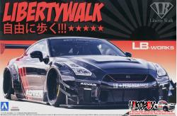 1:24 Liberty Walk (LB Works) Nissan GT-R R35 Ver. 2.2