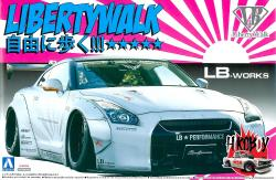 1:24 Liberty Walk (LB Works) Nissan GT-R R35 Ver. 2