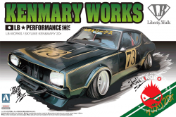 1:24 Liberty Walk Skyline Kenmary Works 2Dr