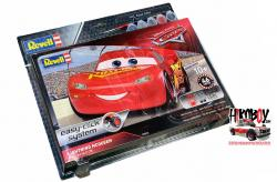 1:24 Lightning McQueen Easy-Click System c/w Aqua Paints