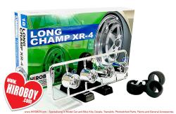"1:24 Long Champ XR-4 14"" Aoshima Wheels and Tyres"