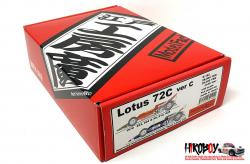 1:24 Lotus 72C Ver C - Full Multimedia Kit