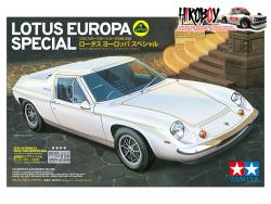 1:24 Lotus Europa Special - 24358 c/w PE and Turned Parts