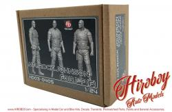 "1:24 Luke Hobbs / Dwayne ""The Rock"" Johnson Resin Figure (Fast and the Furious)"