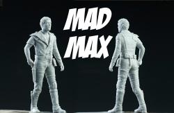 1:24 Mad Max Road Warrior Resin Figure (Mel Gibson)