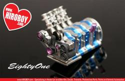 1:24 Mazda 26B ITB Engine Kit