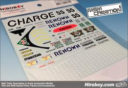 1:24 Mazda 787B 1991 Le Mans Winner Decals REOWN