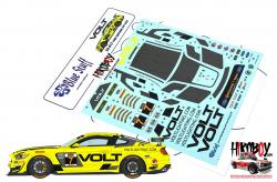 1:24 Ford Mustang GT4 VOLT Racing 2018 Decals