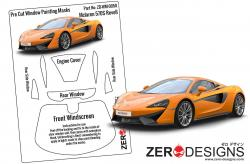 1:24 McLaren 570S Pre Cut Window Painting Masks (Revell)