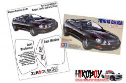 1:24 Toyota Celica GT-Four Window Painting Masks (Tamiya)