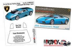 1:24 Lamborghini Murcielago Pre Cut Window Painting Masks (Fujimi)