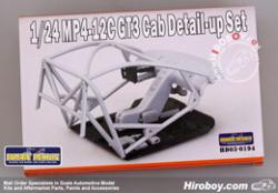 1:24 Mclaren MP4-12C GT3 Cab (Interior) Detail up Set (Fujimi)