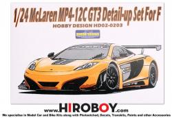 1:24 Mclaren MP4-12C GT3 Detail up Set for Fujimi
