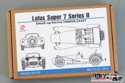 1:24 Lotus Super 7 Series II Detail-up Set For Tamiya 24357