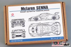 1:24 Mclaren SENNA Detail-up Set For Tamiya 24355