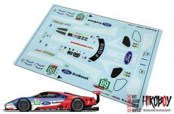 1:24 #68 Ford GT Le Mans Decals