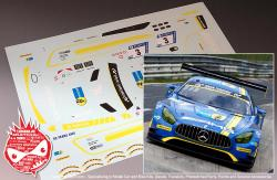 1:24 Mercedes-AMG GT3 Team Black Falcon #3 Decals