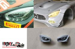 1:24 Mercedes-AMG GT3 Headlights (Resin Upgrade)
