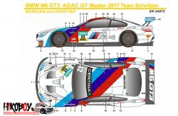 1:24 BMW M6 GT3 Bathurst 12 Hours 2018 Team Schnitzer Decals (Platz)