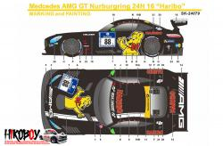 1:24 Mercedes-AMG GT3 Haribo #8 Decals