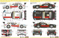 1:24 Mercedes-Benz SLS AMG GT3 FIA GT World Cup Macau 2015 Decals (Fujimi)