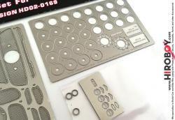 1:24 Mercedes-Benz SLS AMG Photoetch Detail-Up Set for Fujjimi