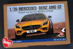 1:24 Mercedes AMG GT Detail Parts for Revell