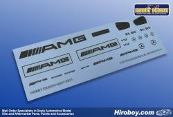 1:24 Mercedes Benz SL 65 AMG Metal Decals