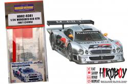 1:24 Mercedes CLK-GTR Photoetched Detail Set (Tamiya 24195) New Version