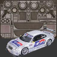 1:24 Mercedes-Benz CLK DTM Photoetched Detail Set #8130
