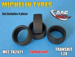 1:24 Michelin tyres 4 pieces