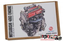 1:24 Mitsubishi 4G63 Full Engine Detail Set (Resin)