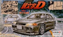 1:24 Mitsubishi Lancer Evolution III GSR (CE9A) (Initial D) Model Kit Kyouichi Version