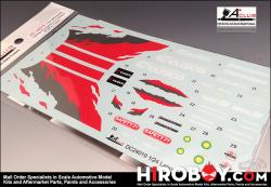 1:24 Mitsubishi Lancer Evolution X Decals