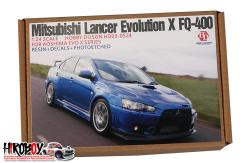 1:24 Mitsubishi Lancer Evolution X FQ-400 For Aoshima EVO X Series