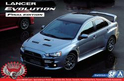 1:24 Mitsubishi Lancer Evolution X Final Edition '15