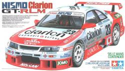 1:24 Nismo Clarion GT-R '95 Le Mans Contender (Nissan Skyline R33)
