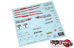 1:24 Nismo Skyline GT-R R34 Decals
