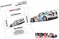 1:24 BMW Z4 GT3 Window Painting Masks (Fujimi)