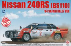 1:24 Nissan 240RS BS110 - '83 Safari Rally Version