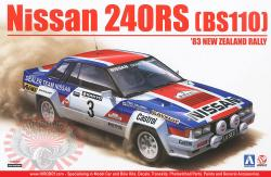 1:24 Nissan 240RS BS110 - '83 New Zealand Rally