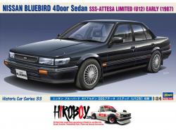 1:24 Nissan Bluebird 4 Door Sedan SSS-Attesa Limited 'U12' Early Version