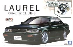 1:24 Nissan Laurel C33 Medalist Club.S  (1991)