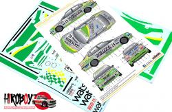 1:24 BMW 320i E46 Macau Guai 2002 Watson Water Decals - Team Schubert (NuNu)